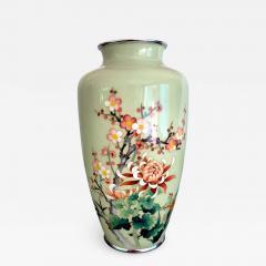 Jubei Ando A Japanese Cloisonne Vase by Ando Jubei Meiji Period - 945843