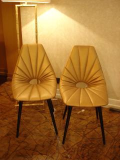 Judit Burian Mid Century Erika Chairs by Judit Burian - 1966900