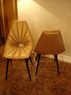 Judit Burian Mid Century Erika Chairs by Judit Burian - 1966901