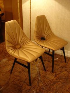 Judit Burian Mid Century Erika Chairs by Judit Burian - 1966906