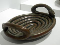Judy Kensley Mckie Bowl with Snakes - 1051099