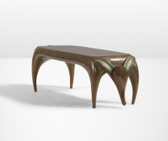 Judy Kensley Mckie Timid Dog Bench Table - 1021871