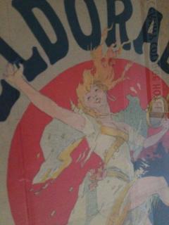 Jules Cheret Jules Cheret El Dorado Art Nouveau Original Poster - 91929