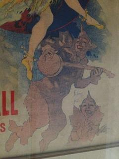 Jules Cheret Jules Cheret El Dorado Art Nouveau Original Poster - 91930