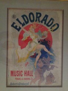 Jules Cheret Jules Cheret El Dorado Art Nouveau Original Poster - 91931