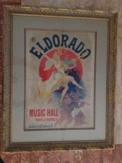 Jules Cheret Jules Cheret El Dorado Art Nouveau Original Poster - 91932