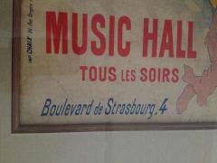 Jules Cheret Jules Cheret El Dorado Art Nouveau Original Poster - 91933