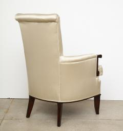 Jules Leleu A Pair of Art Deco Mahogany Chairs by Jules Leleu - 1014600