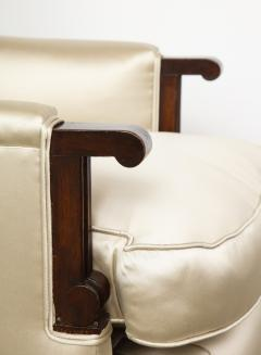 Jules Leleu A Pair of Art Deco Mahogany Chairs by Jules Leleu - 1014602