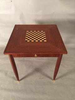 Jules Leleu Art Deco Game Table Signed Jules Leleu - 477856