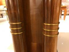 Jules Leleu Elegant art deco mahogany and gilt bronze desk by Jules Leleu - 1184285