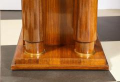 Jules Leleu Elegant art deco mahogany and gilt bronze desk by Jules Leleu - 1184291