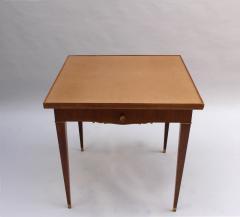 Jules Leleu FINE FRENCH ART DECO PALISANDER GAME TABLE BY JULES LELEU - 992173