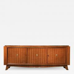 Jules Leleu FRENCH ART DECO WALNUT PARQUETRY BUFFET SIDEBOARD SIGNED JULES LELEU - 1876530