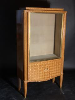 Jules Leleu French Modern Amarynth Mother of Pearl Bronze Mounted Vitrine Jules Leleu - 1369751