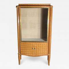 Jules Leleu French Modern Amarynth Mother of Pearl Bronze Mounted Vitrine Jules Leleu - 1375577