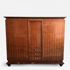 Jules Leleu French Parquetry Cabinet Armoire by Jules Leleu - 96391