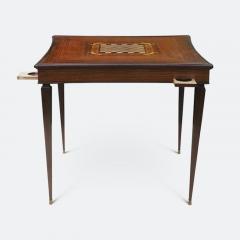 Jules Leleu Jules Leleu Inlaid Card and Games Table - 2061847