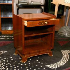 Jules Leleu Jules Leleu Pair Of French Art Deco Side Tables - 1475799