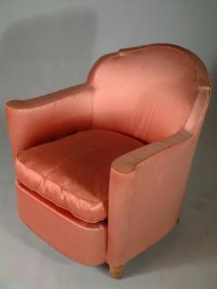 Jules Leleu Jules Leleu Pair of Club Chairs Normandie Model - 1559284