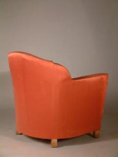Jules Leleu Jules Leleu Pair of Club Chairs Normandie Model - 1559286