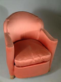 Jules Leleu Jules Leleu Pair of Club Chairs Normandie Model - 1559288