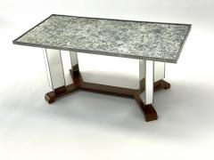Jules Leleu Jules Leleu documented mirrored coffee table - 1525952