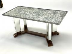Jules Leleu Jules Leleu documented mirrored coffee table - 1525962