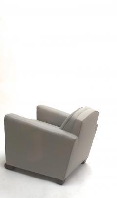 Jules Leleu Jules Leleu pair of refined club chairs fully restored - 832336