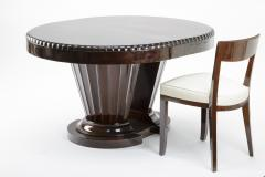 Jules Leleu Jules Leleu rarest historical art deco extendable dinning table - 863330