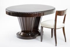 Jules Leleu Jules Leleu rarest historical art deco extendable dinning table - 863331