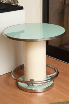 Jules Leleu Maison Leleu Modernist Round Table - 1487895