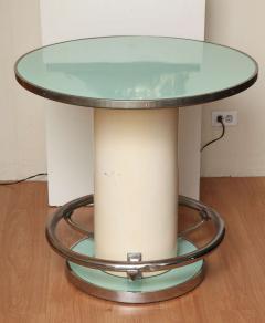 Jules Leleu Maison Leleu Modernist Round Table - 1487900