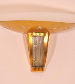 Jules Leleu Pair of Art Deco Wall Sconces by JULES LELEU 2 pairs available  - 1435874