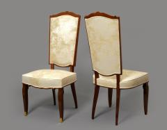Jules Leleu Set of Dining Room Chairs and Armchairs by Jules Leleu 1946 - 288057