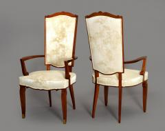 Jules Leleu Set of Dining Room Chairs and Armchairs by Jules Leleu 1946 - 288058