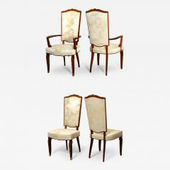 Jules Leleu Set of Dining Room Chairs and Armchairs by Jules Leleu 1946 - 289214