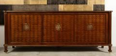 Jules Leleu Walnut Marquetry Sideboard Signed Jules Leleu 1945 - 1547116