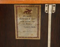Jules Leleu Walnut Marquetry Sideboard Signed Jules Leleu 1945 - 1547144