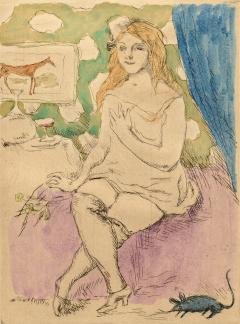 Jules Pascin Dame de la Nuit - 1263687