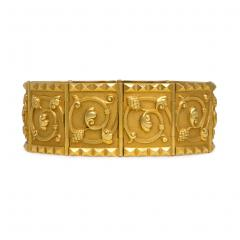 Jules Wiese Superb Pair of Wi se 19th Century Gold and Silver Bracelets - 1095948