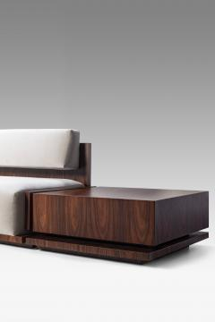 Juliana Lima Vasconcellos Square Sofa by Juliana Lima Vasconcellos with Side Tables - 1563608