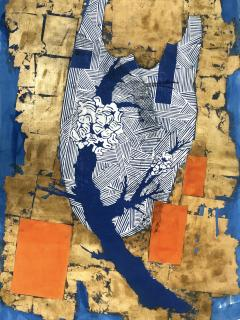 Julien Gil Vega The Branches Keep Dancing Mixed Media on Paper - 1311164