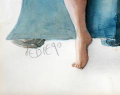 Julio De Diego Artist Models  - 1266798