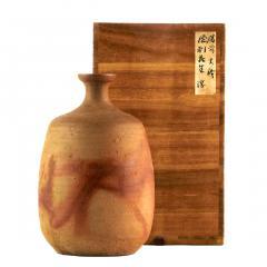 Jun Isezaki Modern Studio Vase Bizen Ware by Jun Isezaki - 1957531