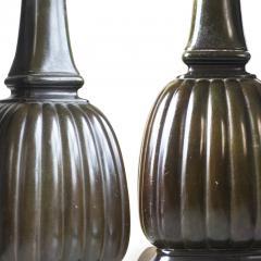 Just Andersen Pair of Art Nouveau Table Lamps in Disko by Just Andersen - 1499617