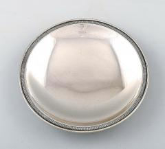 Just Andersen Rare dish of sterling silver - 1330826