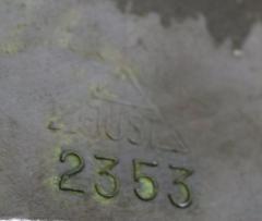 Just Andersen Vase in disko metal Model Number 2353 - 1423033