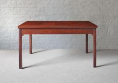Kaare Klint CUBAN MAHOGANY TABLE DESIGNED BY KAARE KLINT DENMARK C 1930 - 1189747
