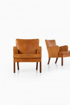 Kaare Klint Easy Chairs Model 5313 Produced by Rud Rasmussen Cabinetmakers - 1886603